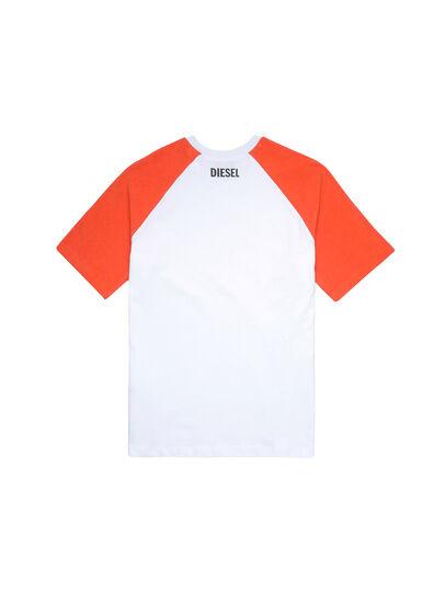 Diesel - UMLT-BASE-SP, White/Orange - Tops - Image 2