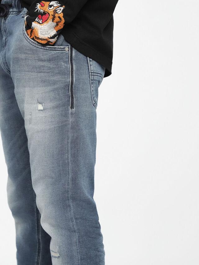 Diesel - Krooley JoggJeans 084UC, Light Blue - Jeans - Image 6
