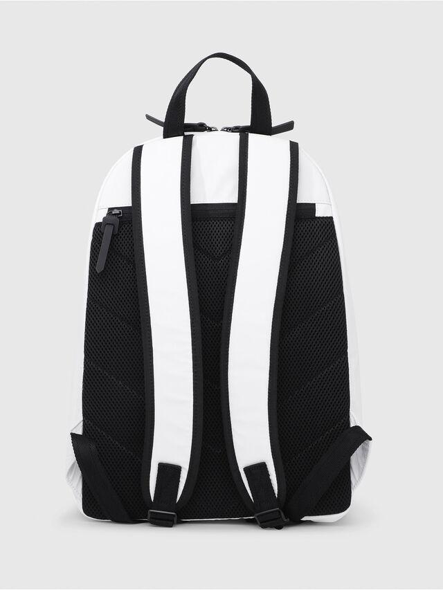 Diesel - F-BOLD BACK, White/Black - Backpacks - Image 2