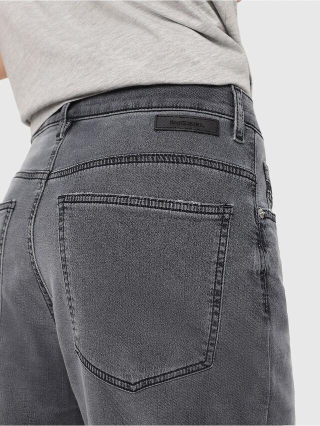 Diesel - Widee JoggJeans 069EH, Black/Dark grey - Jeans - Image 3