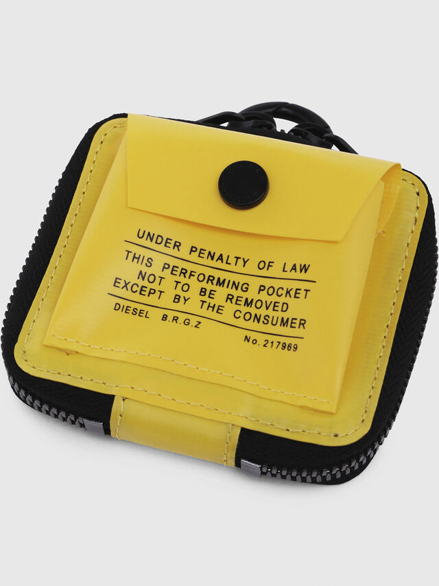Diesel - AFFI, Yellow - Small Wallets - Image 4