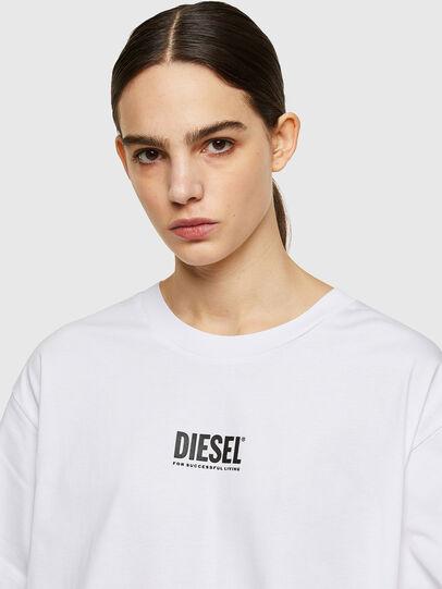 Diesel - D-BOWI-SMALLOGO, White - Dresses - Image 3