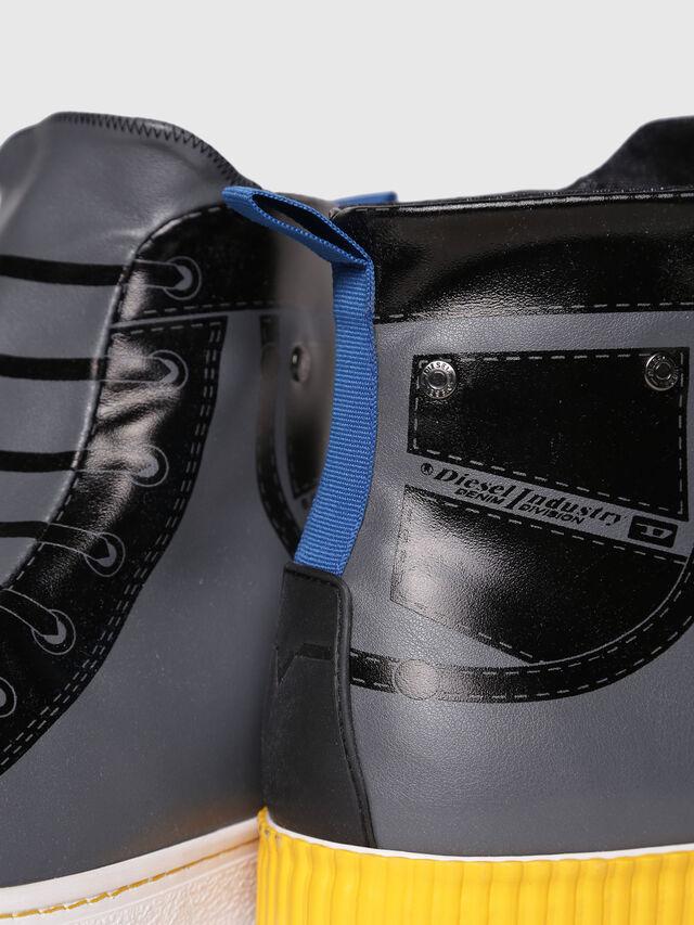 Diesel - S-DIESEL IMAGINEE MID, Gray/Black - Sneakers - Image 4