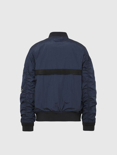 Diesel - J-DUST-KA, Dark Blue - Jackets - Image 2