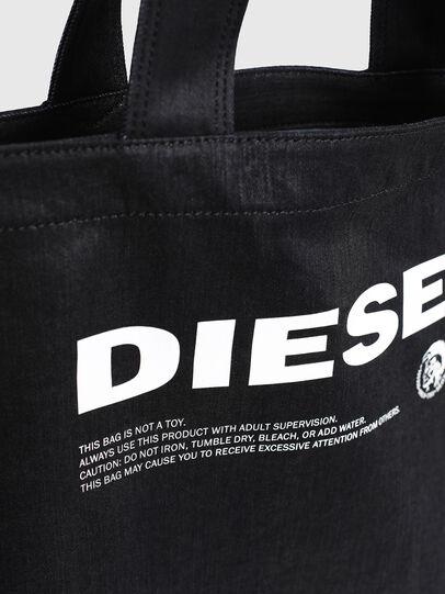 Diesel - D-THISBAG SHOPPER L, Black - Shopping and Shoulder Bags - Image 5