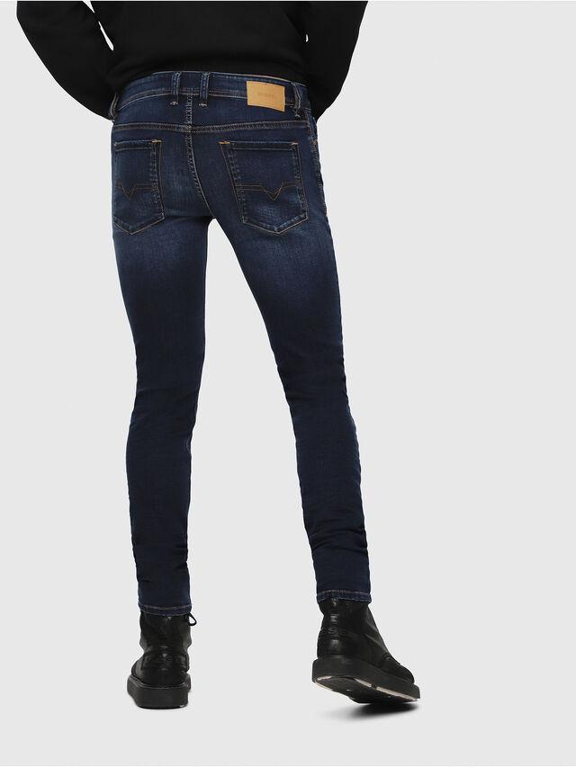 Diesel - Sleenker 084RI, Dark Blue - Jeans - Image 2