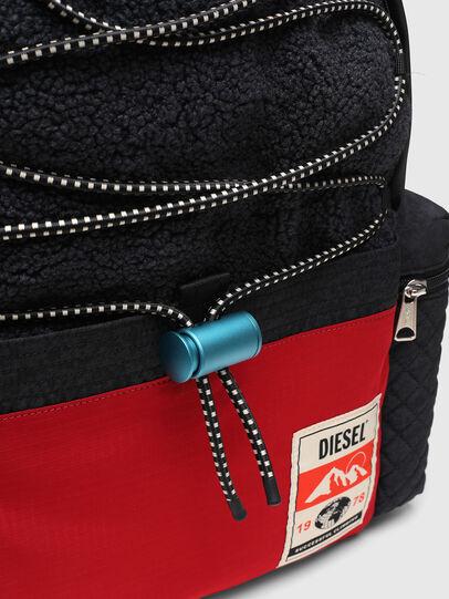 Diesel - YBEX, Black/Red - Backpacks - Image 5