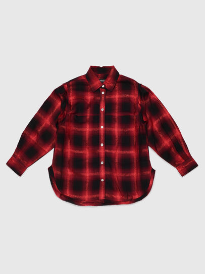 Diesel - CSUNNYA, Red/Black - Shirts - Image 1