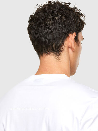Diesel - T-JUST-A31, White - T-Shirts - Image 4