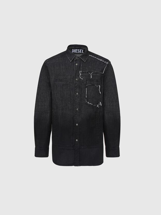D-NESKY, Black - Denim Shirts