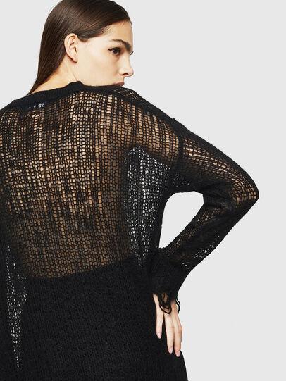Diesel - M-ANDREA, Black - Knitwear - Image 4