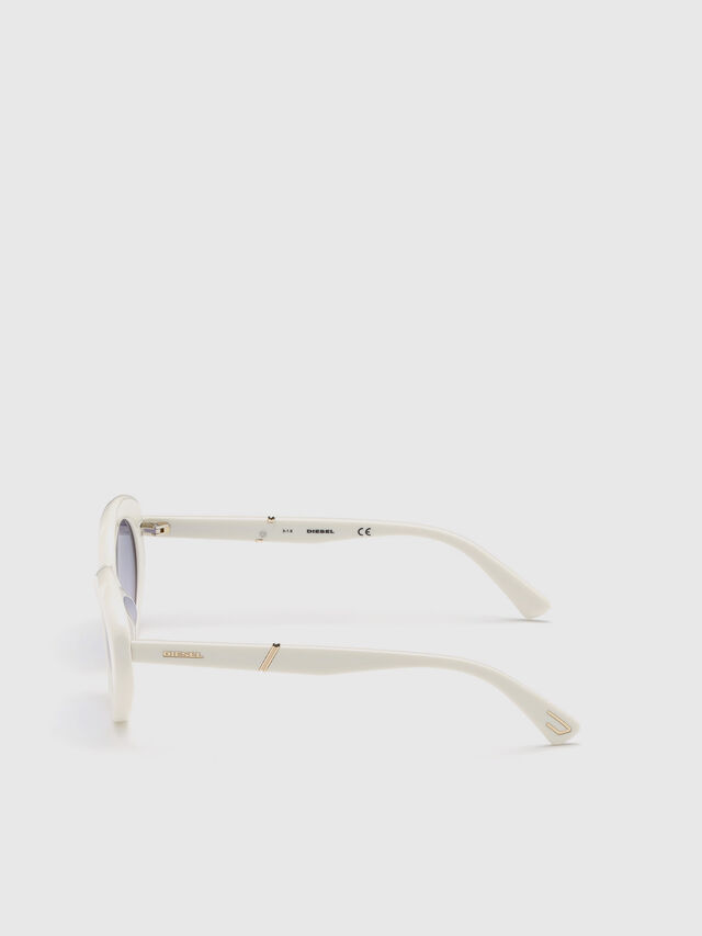 Diesel - DL0281, White - Sunglasses - Image 3