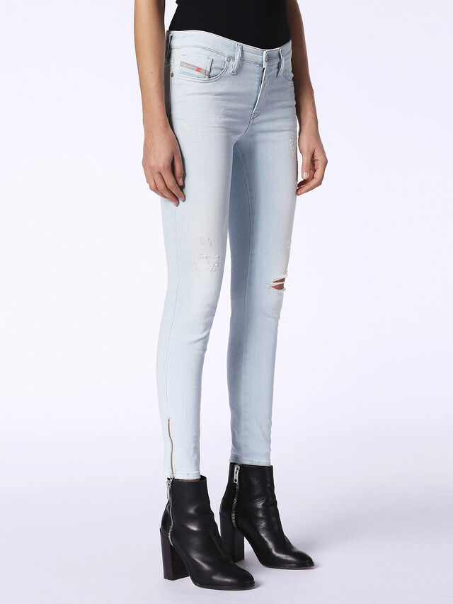 SKINZEE-ZIP 084QE, Light Blue