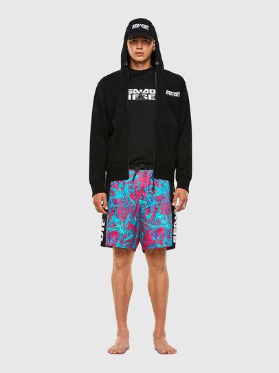 Diesel - BMBX-TUNADOO, Pink/Blue - Swim shorts - Image 4