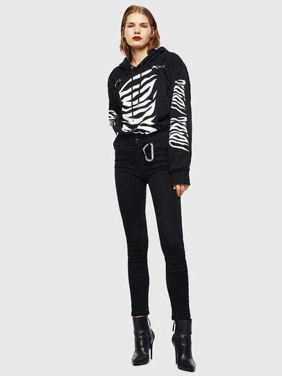 Diesel - F-ALBYHOOK-C, Black - Sweaters - Image 5