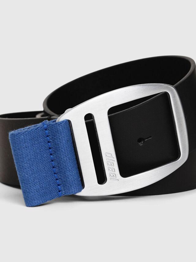 Diesel - B-PONSO, Black/Blue - Belts - Image 2