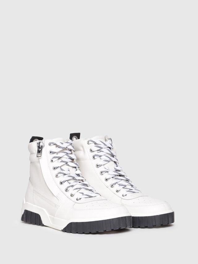 Diesel - S-RUA MC W, White - Sneakers - Image 2