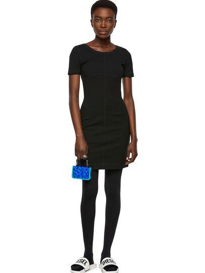 Diesel - D-KONF, Black - Dresses - Image 4