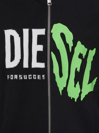 Diesel - K-LEDGER, Black - Knitwear - Image 3