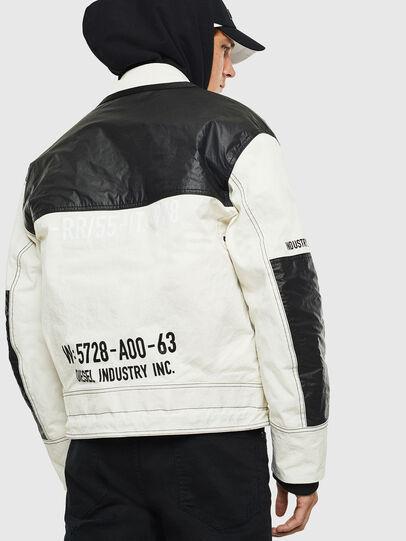 Diesel - J-KENDY, White/Black - Jackets - Image 2