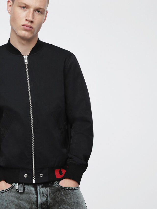 Diesel - J-GATE, Black - Jackets - Image 1