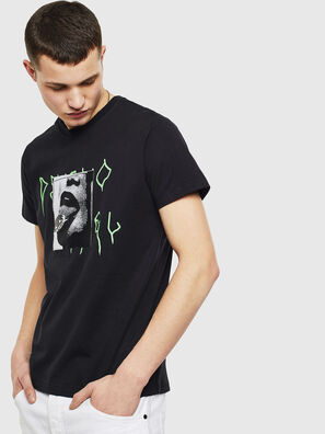 T-DIEGO-S12, Black - T-Shirts
