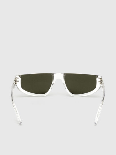 Diesel - DL0315, White - Sunglasses - Image 4