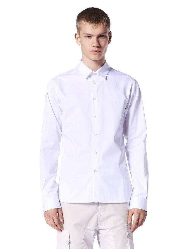 SERIOUS, White