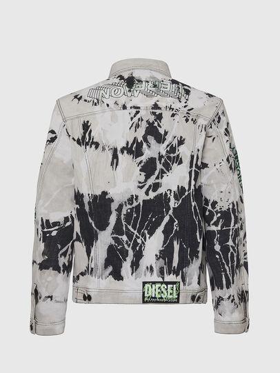 Diesel - NHILL-SP3, Black/White - Denim Jackets - Image 2