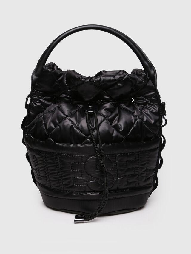 Diesel - NYDUVET BUCKET, Black - Crossbody Bags - Image 1