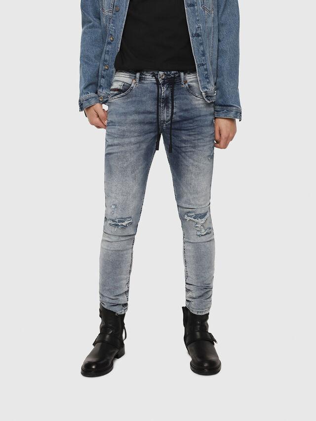 Diesel - Thommer JoggJeans 069FC, Light Blue - Jeans - Image 1