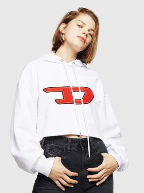 F-DINIE-B, White - Sweaters