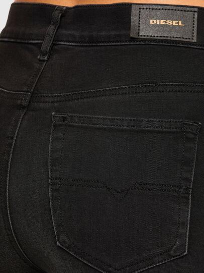 Diesel - D-Roisin High 069MZ, Black/Dark grey - Jeans - Image 4