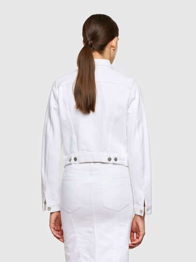 Diesel - DE-LIMMY, White - Denim Jackets - Image 2