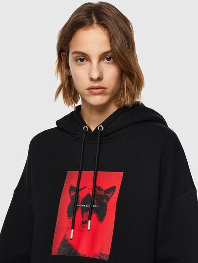 Diesel - F-GULLY-HOOD, Black - Sweaters - Image 4