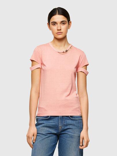 Diesel - T-BULLOCK-A1, Pink - T-Shirts - Image 1