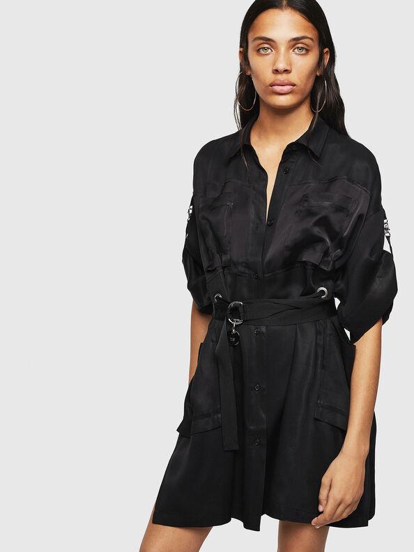 D-TIEP, Black - Dresses
