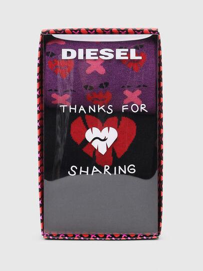 Diesel - SKM-HERMINE-THREEPAC, Black/Violet - Socks - Image 2