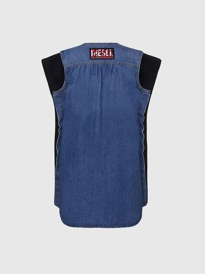 Diesel - M-BYRNE, Black/Blue - Dresses - Image 2