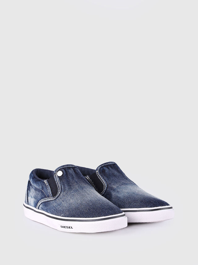 KIDS SLIP ON 21 DENIM CH, Blue Jeans - Footwear - Image 2