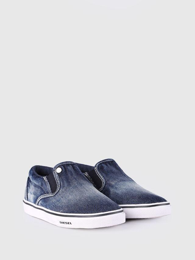 Diesel - SLIP ON 21 DENIM CH, Blue Jeans - Footwear - Image 2