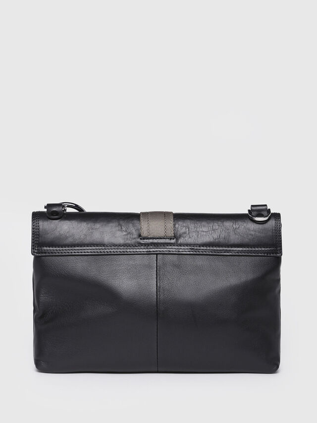 Diesel - MISS-MATCH CLUTCH, Black Leather - Clutches - Image 2