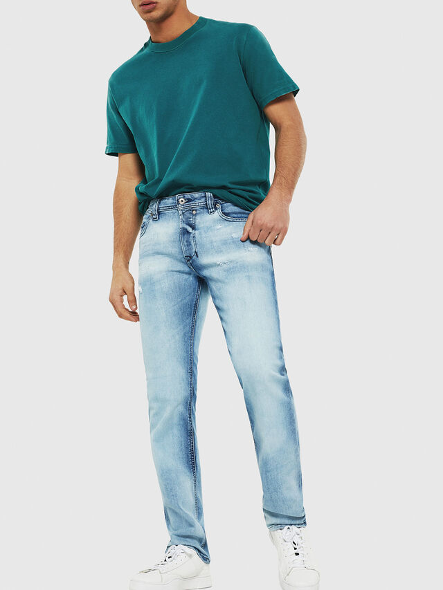 Diesel - Safado C81AS, Light Blue - Jeans - Image 4