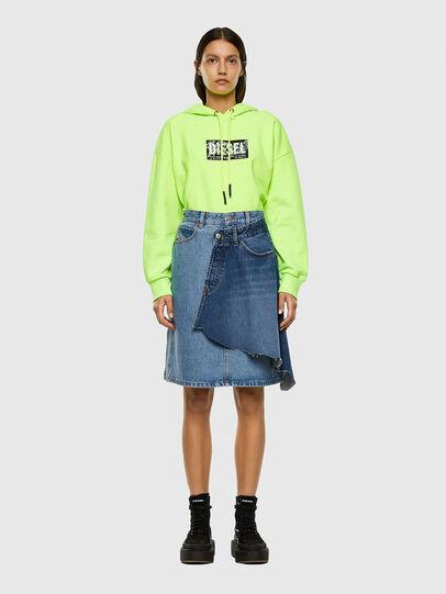 Diesel - DE-TOBY, Light Blue - Skirts - Image 5