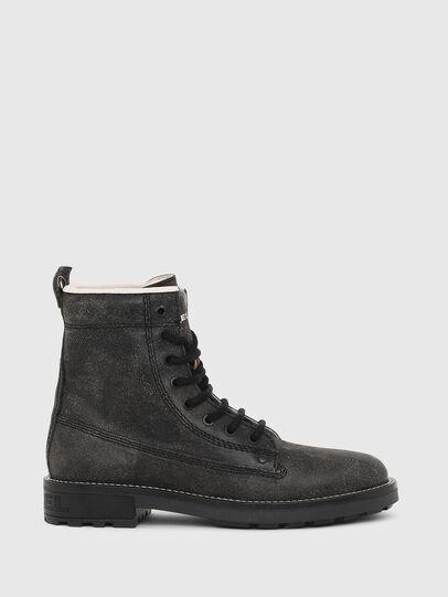 Diesel - D-THROUPER DBB W, Black - Ankle Boots - Image 1