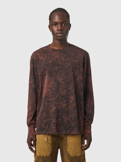 Diesel - T-GLYN, Black/Brown - T-Shirts - Image 1