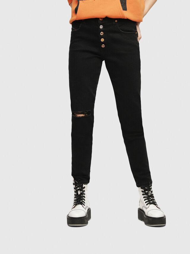 Diesel - Babhila 084ZN, Black/Dark grey - Jeans - Image 1