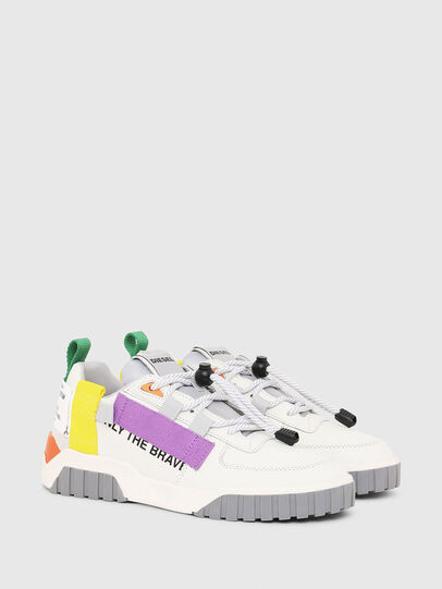 Diesel - S-RUA LOW SP W, White - Sneakers - Image 2