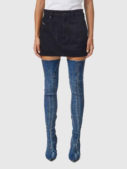 Diesel - DE-EISY, Black - Skirts - Image 1