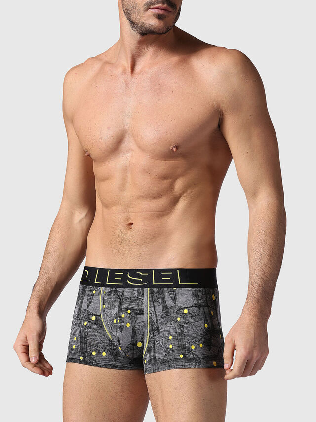 Diesel - UMBX-DAMIEN, Gray/Black - Trunks - Image 1
